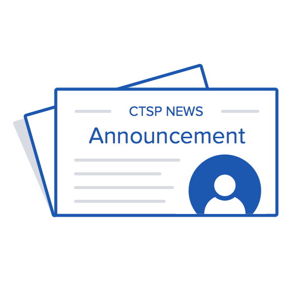 CTSP Announcement