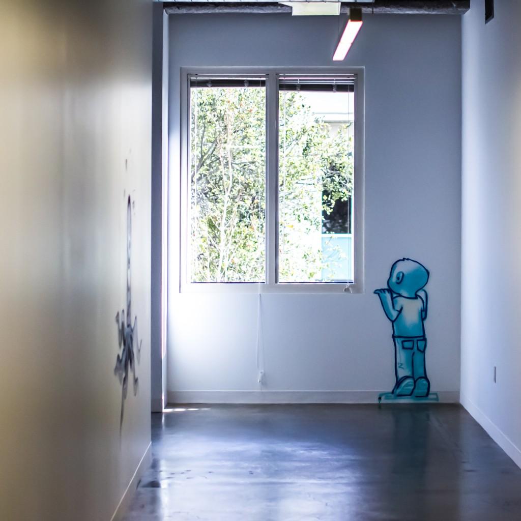 Facebook HQ Art